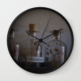 Bottles Wall Clock