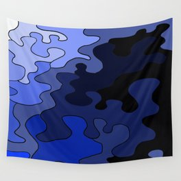 Venture In Darkness Wall Tapestry