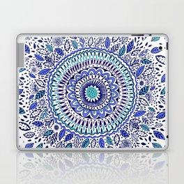 Indigo Flowered Mandala Laptop & iPad Skin