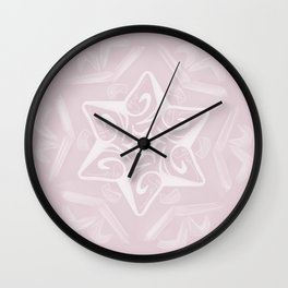 Shalom Star of David - 3 Wall Clock