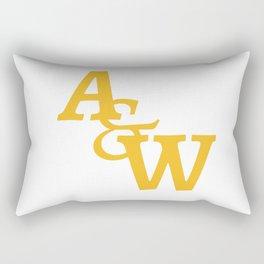 Arts & Wall Letter Logo Rectangular Pillow