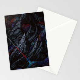 Its a majestic fall into a journey of darkness Stationery Cards