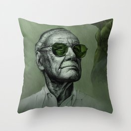 Excelsior Stan Green Throw Pillow