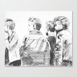 """The world wont listen"" Canvas Print"