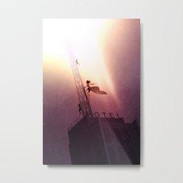 To the Sky! Metal Print