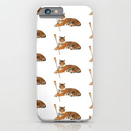 Crew Tiger iPhone Case