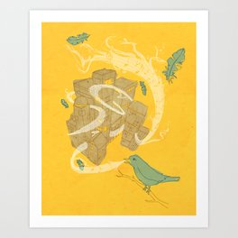 Song for the City Art Print