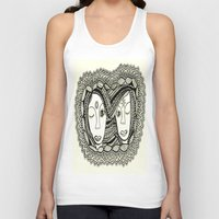 sisters Tank Tops featuring Sisters by NazreenNizamRao