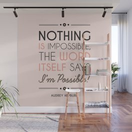 I'm Possible! - Quote Wall Mural