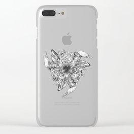 Kingdom Animalia Clear iPhone Case