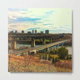 YEG Autumn  Metal Print