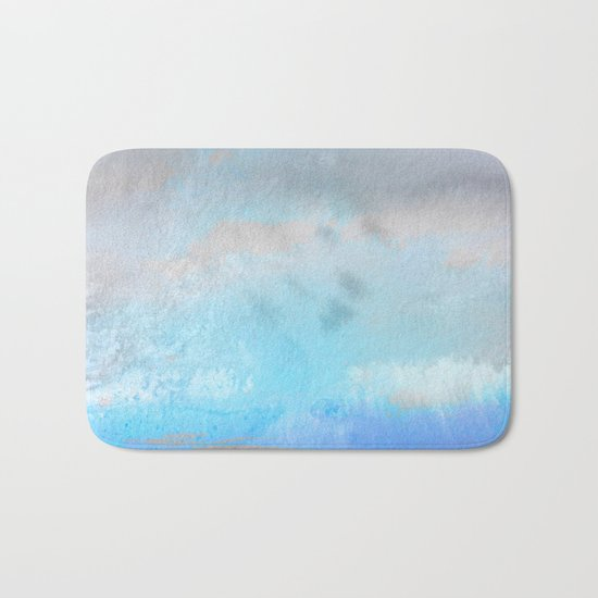 Ocean #Abstract Bath Mat