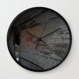 Love is Strong Wall Clock