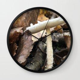 Flat Top Mushroom Wall Clock