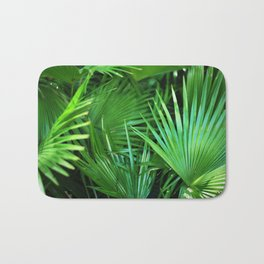 44. Greenery Pattern, Cuba Bath Mat