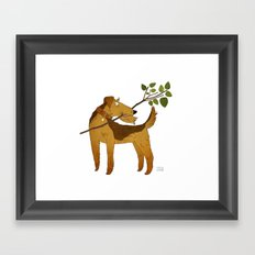 Airedale Framed Art Print