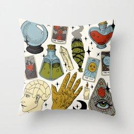 Fortune Teller Starter Pack Color Throw Pillow