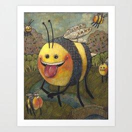 Mona Beesa Art Print