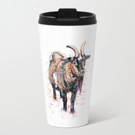 Inky Goat Travel Mug