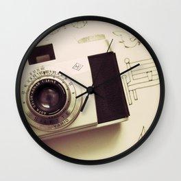 Vintage Captures Wall Clock