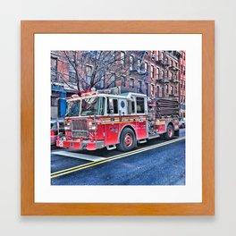 LADDER 28 Framed Art Print