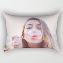 Soap bubbles Rectangular Pillow