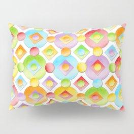 Rainbow Dots Pillow Sham