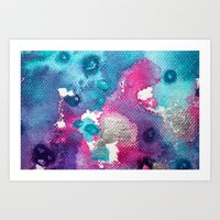 Untitled Abstract 14 Art Print