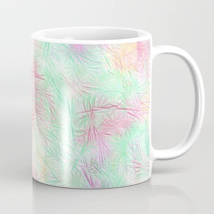 Tangled Green Fireworks Coffee Mug