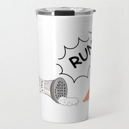 RUN SHMENZO!! Travel Mug
