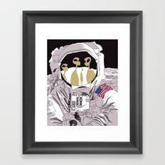 Meet Buzz Aldrin Framed Art Print