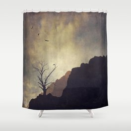 DyinG liGhts Shower Curtain