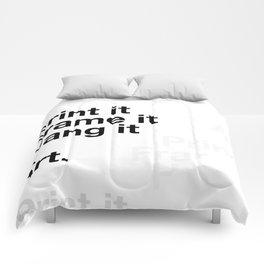 What is Art? Comforters