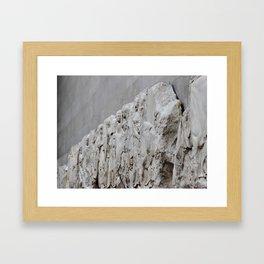 Marble Statue #1 Framed Art Print