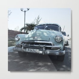 Cuban Car Metal Print