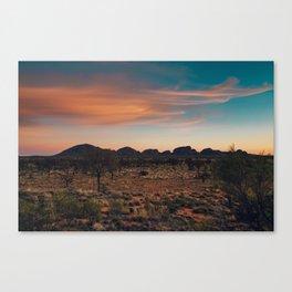The Olga's  -Uluru Canvas Print