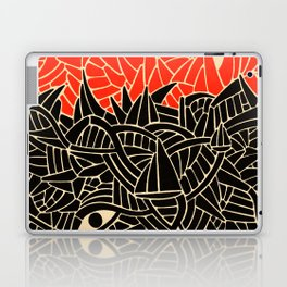 - fall : a red storm and the sea - Laptop & iPad Skin