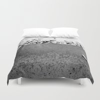 zen Duvet Covers featuring Zen by Paper Possible