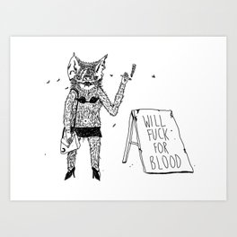Prostibat Art Print