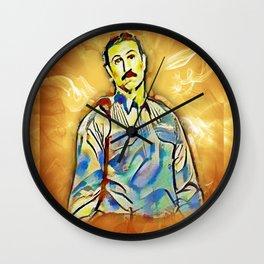 Pornstache Wall Clock