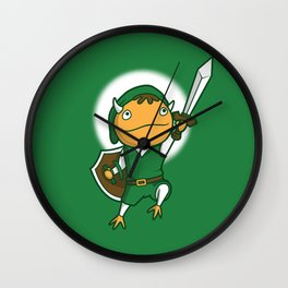 The Hero of Another World Wall Clock