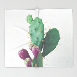 Prickly Pear Throw Blanket