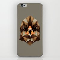 hawk iPhone & iPod Skins featuring Hawk by KUI29