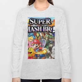 super smash bros Long Sleeve T-shirt