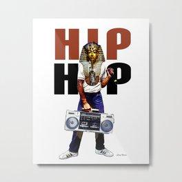 Hip Hop Pharoah Metal Print