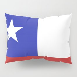 Chile flag emblem Pillow Sham