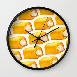 Twinkie Pattern Wall Clock