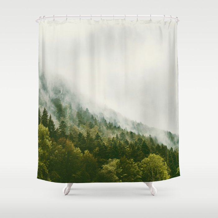 Mist And Forest Shower Curtain
