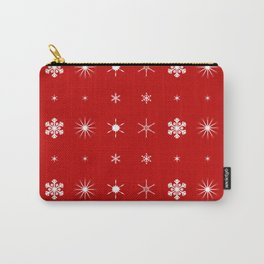 Christmas Paper Background Carry-All Pouch
