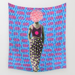 Walking Dot Wall Tapestry